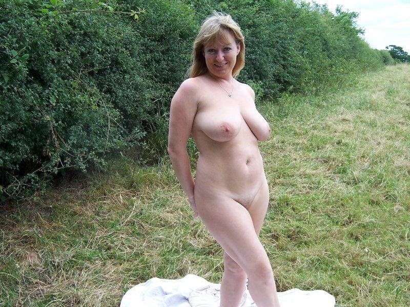 Hope, you Amateur milf naked outdoors very